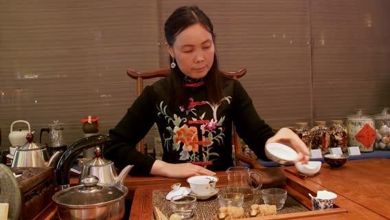 Tea Ceremony: Shaanxi Province, China