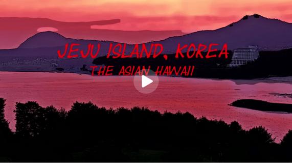 JEJU ISLAND, KOREA: The Asian Hawaii